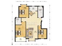 明瑞园,电梯144平米,毛坯房,房本在手,支持按揭