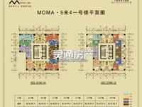 北郊Moma公寓,34平至67平,5.4米层高,买一层送一层。