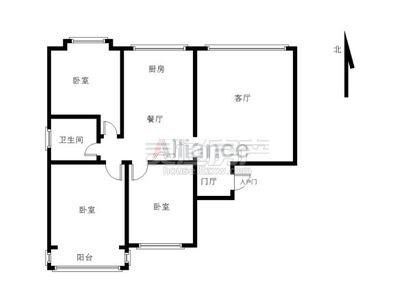 华林逸墅,精装修三房,南北通透,满二年,电梯好楼层,拎包入住