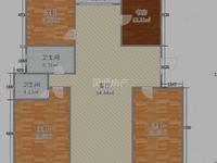 稀缺4室,赠送5平,鑫地理想城145平米