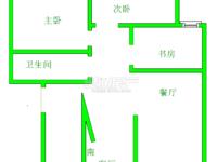 条山花园,步梯黄金楼层,三室两厅一卫,精装短住,满二可按揭。