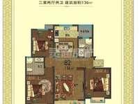 出售金盛园小区3室2厅2卫136平米51.68万住宅