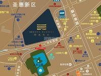 购物中心附近河东华府小区98平3室特价5000元每平首付15万