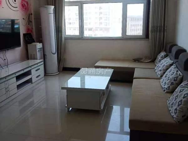 天泰文化苑 电梯房,89平米,两室一厅,家具家电齐全,拎包入住,限年租
