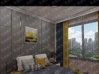 西花园东口碧清园 电梯房,100平米,两室两厅一卫,精装未住,环境清雅