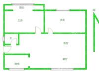 诚心出售 黄金水岸旁边、广鑫富泽园,88.09平,精装修,带家具家电,南北通透